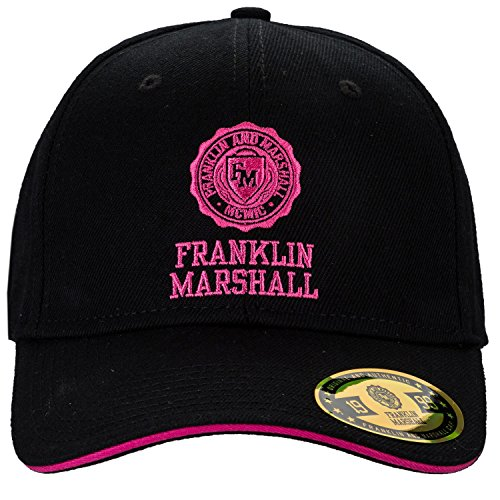Franklin And Marshall Women s Franklin Marshall Embroidered Logo Cap One  Size Black - Buy Online in UAE.  1b84174e610f
