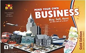 toyztrend Strategy Business Gold Game for Young Businessman to Build Their own World of Properties