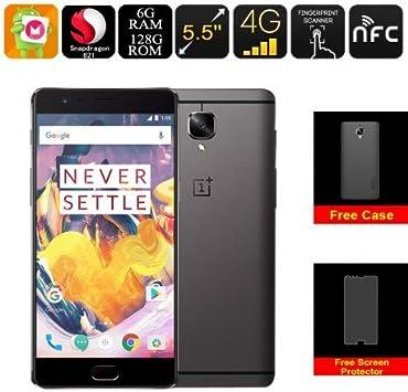 OnePlus 3T Smartphone Gunmetal 128GB: Amazon.es: Electrónica