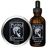 Facial Massage For Beard Growth - Beard Oil and Beard Balm Kit for Men Care - Cherry scented Leave in Beard Conditioner, Beard Butter, Growth and Grooming, Softener Gift set - For Beard and Mustache Styling, Shaping, Wax, Spartan,Oils