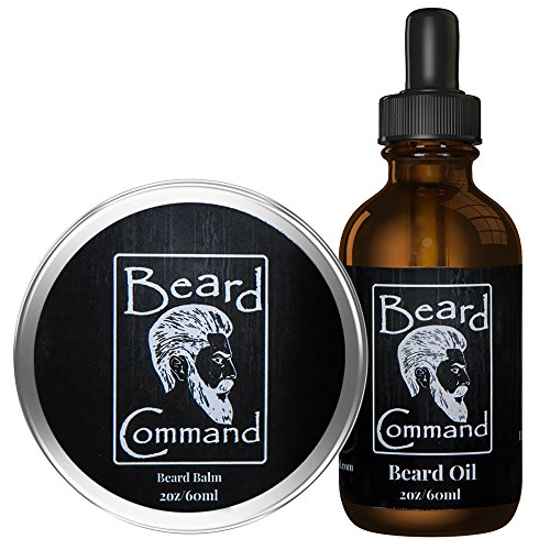 Beard Oil and Beard Balm Kit for Men Care – Cherry scented Leave in Beard Conditioner, Beard Butter, Growth and Grooming, Softener Gift set – For Beard and Mustache Styling, Shaping, Wax, Spartan,Oils