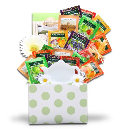Tealicious Treats Tea Lovers Gift Basket