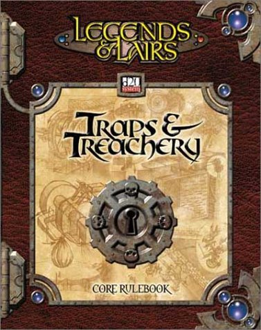 Traps & Treachery (Dungeons & Dragons d20 3.0 Fantasy Roleplaying) (Best Fantasy Role Playing Games)