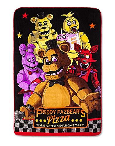 (Five Nights at Freddy's Bed Blanket)