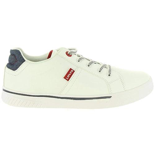 Levis Zapatillas Deporte Vfut0021s Open 0061 White 36 para Niño y Niña y Mujer: Amazon.es: Zapatos y complementos