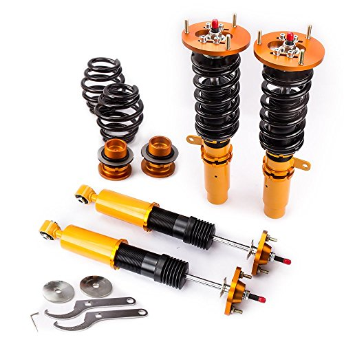 maXpeedingrods Adjustable Coilovers for 1998-2006 BMW 3 Series E46 316 318 320 323 325 328 330 M3 Shock Suspension Struts Coil Over Bmw 328 Series Shocks