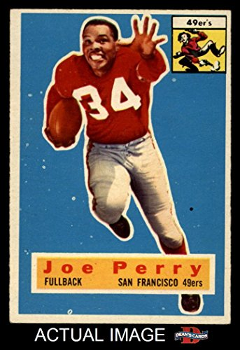 1956 Topps # 110 Joe Perry San Francisco 49ers (Football ...