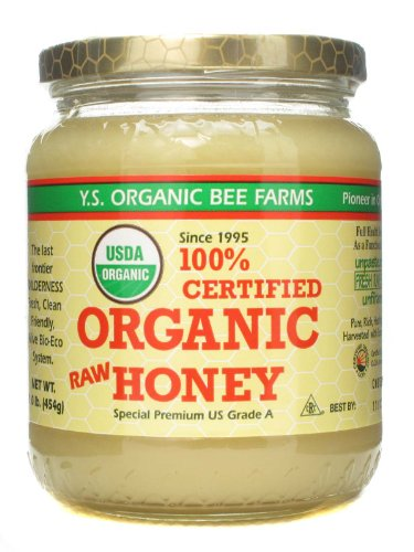 Y.S. Organic Bee Farms Organic Raw Honey 1 lb (454