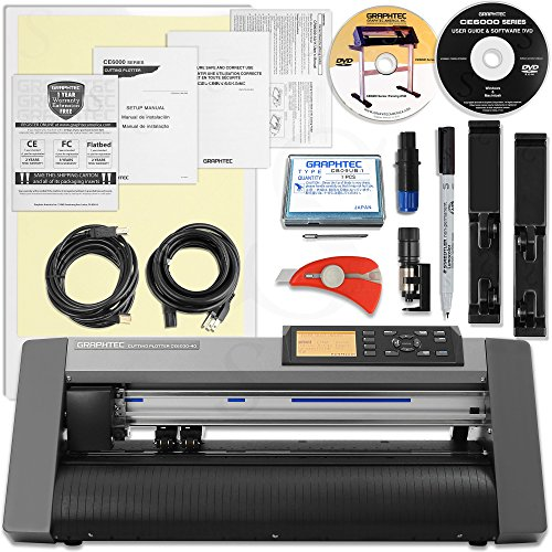Graphtec Plus 15 Inch Desktop Vinyl Cutter & Plotter Bundle with $700 in Software and 2 Year Warranty