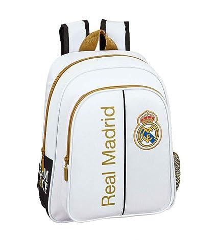 Real Madrid CF Mochila pequeña niño Adaptable Carro: Amazon ...