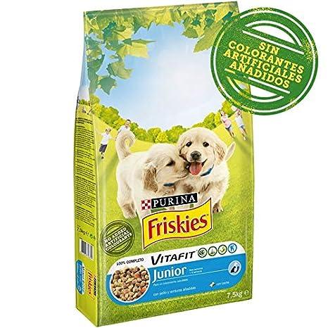 Purina Friskies Vitafit Pienso para Perro Junior Pollo 7,5 Kg: Amazon.es: Productos para mascotas