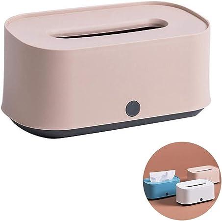 Caja de pañuelos Servilletas Pañuelo Creativo Estilo nórdico Caja mate Almacenamiento Papel higiénico Caja de efectivo (Color : Pink): Amazon.es: Hogar
