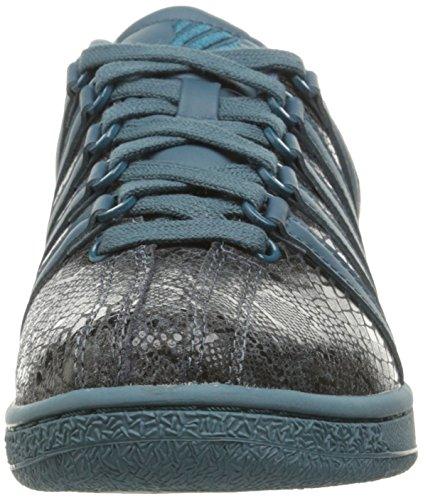 K-Swiss Women's Classic VN Rep Glam Fashion Sneaker, Stargazer/Dragonfly, 8.5 M US