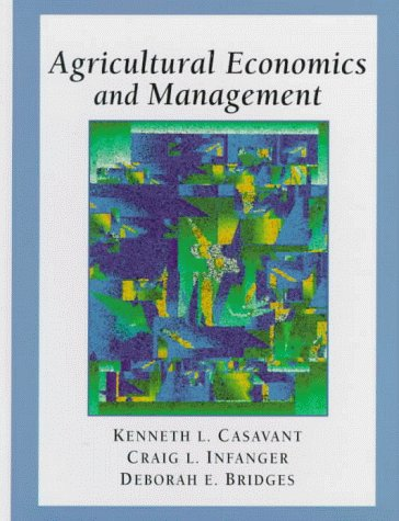 Agricultural Economics and Management