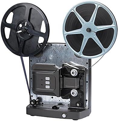 Reflecta Super 8 Scanner - Escáner (5,79 x 4,01 mm, 1920 x 1080 ...