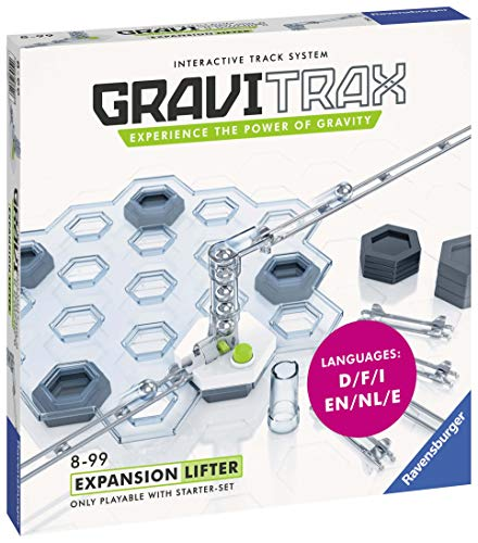 Ravensburger Gravitrax Lifter Expansion Set Marble Run & STEM Toy for Boys & Girls Age 8 & Up - Expansion for 2019 Toy of The Year Finalist Gravitrax from Ravensburger