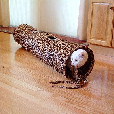 Good Pet Fun Tunnel Color: Leopard