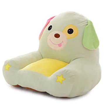 Vercart Super Cute Kids Plush Toy Bean Bag Chair Seat For Children Animal  Plush Soft Sofa