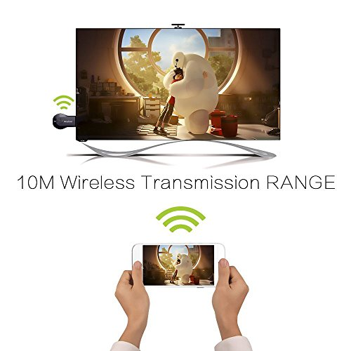 M2 Plus WiFi Display Receiver TV PC Dongle AV DLNA Airplay Miracast Iphone Ipad airplay HDMI TV Stick Dongle by Superwang (Image #5)