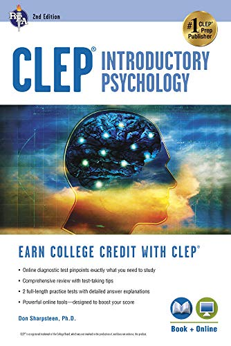 CLEP® Introductory Psychology Book + Online (CLEP Test Preparation) (Credit Score For Forever 21 Credit Card)