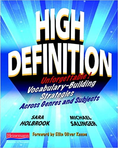 Book High Definition: Unforgettable Vocabulary-Building Strategies Across Genres and Subjects