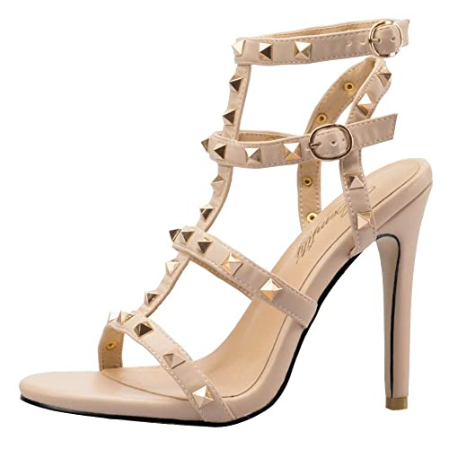 45f9c6e808b Comfity Rockstud Sandals Women