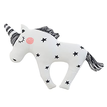 Dibujos animados Unicorn almohada de peluche Emoji juguetes para bebé Niños Regalo o Decoración para el