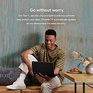 Google Pixelbook Go - Lightweight Chromebook Laptop - Up to 12 Hours Battery Life[1] - Touch Screen Chromebook - Just…