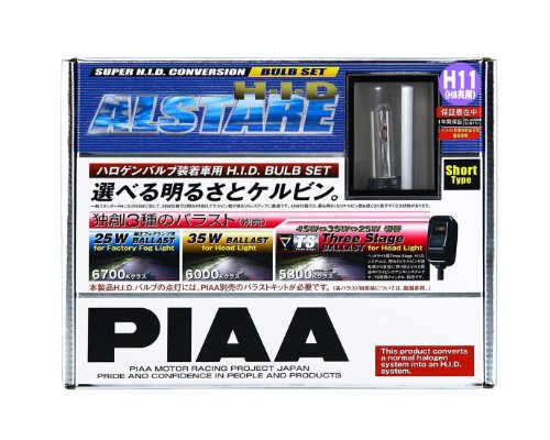PIAA HID bulb harness kit [Ulster 6000K] H8 / H11 2 pieces HH198S ()