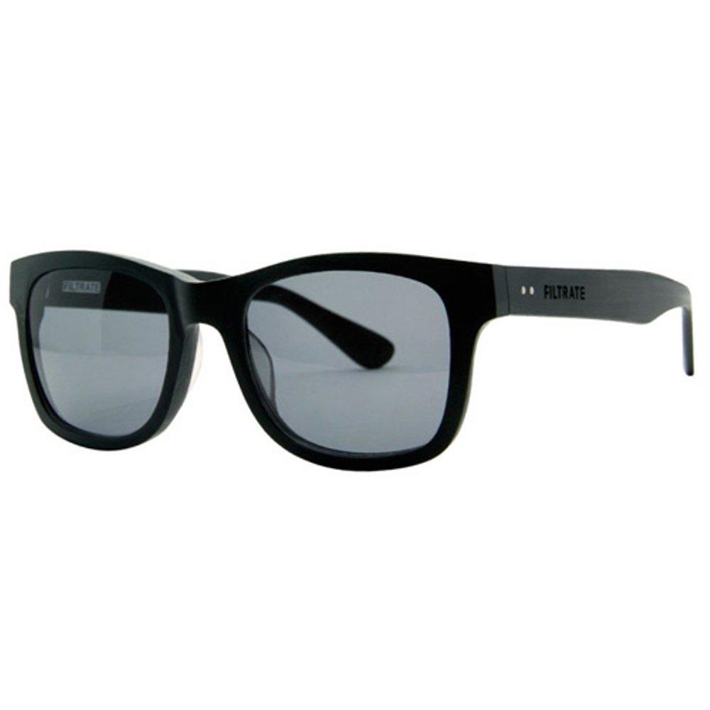 Filtrate Eyewear(フィルトレイト アイウェア) OXFORD ブラックアウト/グレー ポラライズド レンズ   B00JEWQQLW