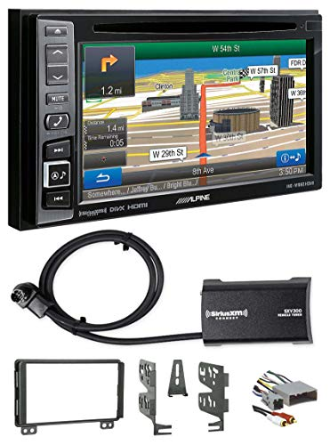 Alpine Bluetooth Receiver w/Navigation/GPS/DVD/XM for 2004-05 Lincoln Aviator ()