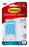 Command 821079049512 Bath Water Resistant Refill, 2-Medium and 4-Large Strips (BATH22-ES-E), 1 Pack, Blue