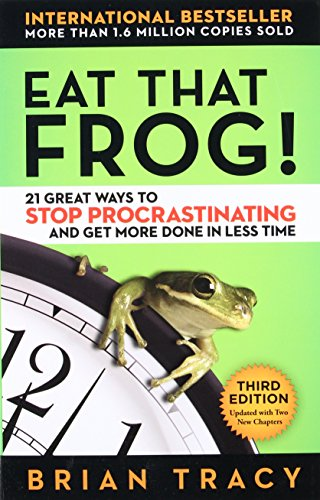 Eat That Frog!: 21 Great Ways to Stop Procrastinating and Get More Done in Less (Emerald Frog)