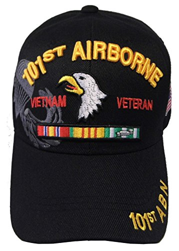 US Warriors Vietnam Veteran 101st Airborne U.S. Military Cap Hat Official Licensed