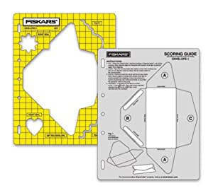 Fiskars shape template envelope set 1 template size 8 for 8 5 x 11 envelope template
