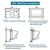 150W LED Wall Pack Light with Dusk-to-Dawn