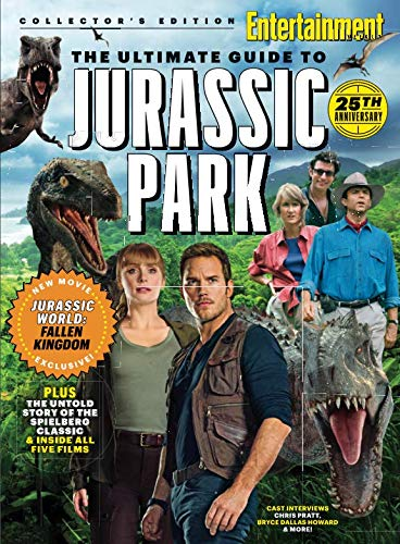 ENTERTAINMENT WEEKLY The Ultimate Guide to Jurassic Park Single Issue Magazine – June 15, 2018