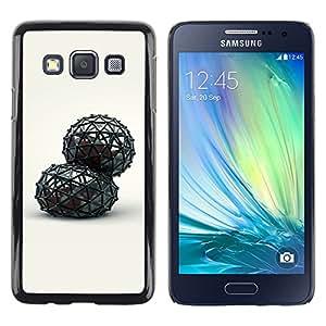 """For Samsung Galaxy A3 , S-type abstracto"""" - Arte & diseño plástico duro Fundas Cover Cubre Hard Case Cover"""