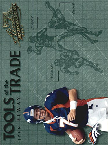 2002 Absolute Memorabilia Tools of the Trade #TT49 John Elway - NM-MT