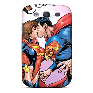 Ultra Slim Fit Hard DaMMeke Case Cover Specially Made For Galaxy S3- Adventures Of Superman