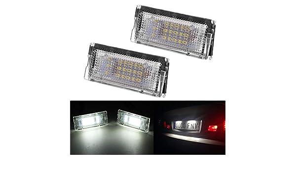 KATUR 1/par de luces LED para matr/ícula