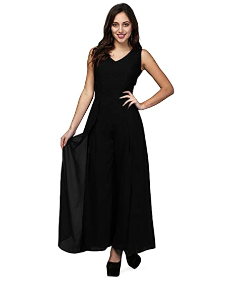 41f5a72a101f V M Women s Jumpsuit - Flared Jumpsuit for Women Made of Quality ...