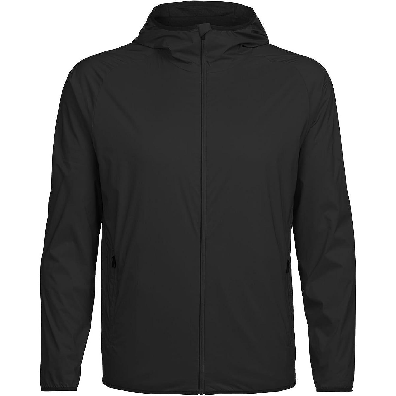 アイスブレーカー メンズ ジャケット&ブルゾン Coriolis Hooded Windbreaker [並行輸入品] B079LYHNJ3 L
