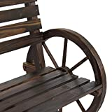 Best Choice Products Wooden Rustic Wagon Wheel