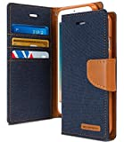 Cool & Creative Wallet Style Flip Cover For SAMSUNG GALAXY J3 PRO (Blue)