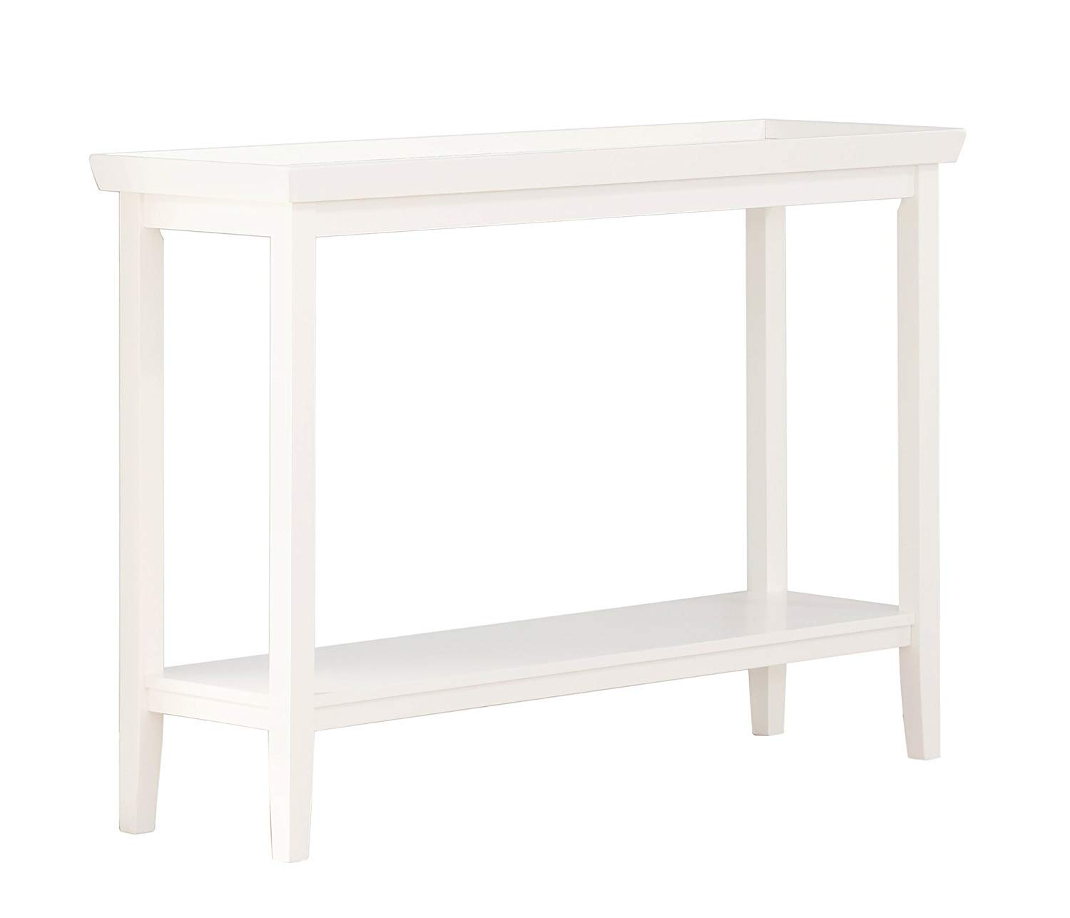Convenience Concepts Console Table, White
