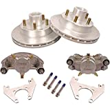 """KODIAK 10"""" Trailer Disc Brake Assy, Stainless Steel, DAC (Complete 1 Axle Kit) with stainless steel"""