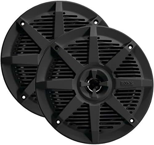 BOSS AUDIO MR62B 2-Way Full-Range Marine Speakers (6.5