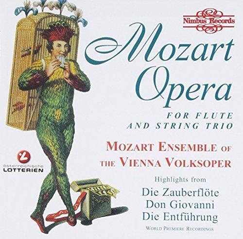 Mozart - Opera Arias (arr for flute & string trio) by Vienna Volksoper Mozart Ensemble (1999-01-26)