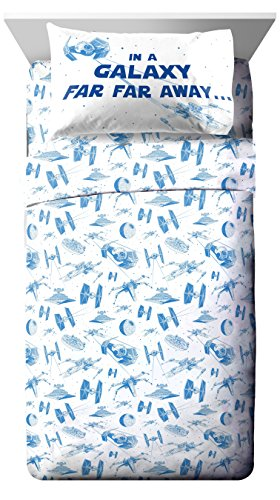 Star Wars Classic Logo 4 Piece Full Sheet Set - Star Wars Sheets